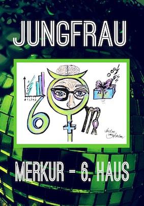 Astro-Art Gutschein Jungfrau